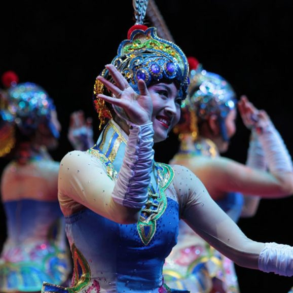 THE FIRST INTERNATIONAL FESTIVAL OF ARTISTIC ARTS IN CHINA